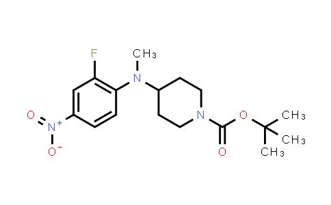 952285-82-4 | tert-butyl 4-((2-fluoro-4-nitrophenyl)(methyl)amino)piperidine-1-carboxylate