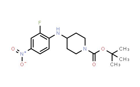 MC456285 | 952285-81-3 | tert-butyl 4-(2-fluoro-4-nitrophenylamino)piperidine-1-carboxylate