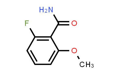529512-81-0 | 2-Fluoro-6-methoxy-benzamide
