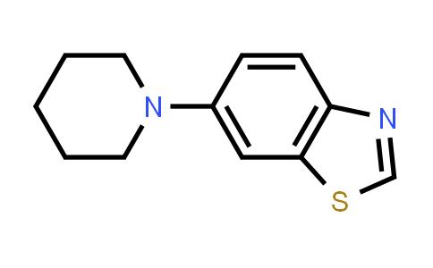 663627-30-3 | 6-piperidin-1-yl-1,3-benzothiazole