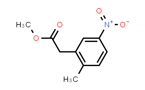 287119-84-0 | (2-Methyl-5-nitro-phenyl)-acetic acid methyl ester