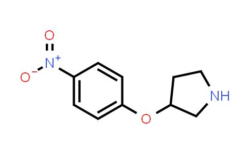 1187930-72-8 | 3-(4-Nitro-phenoxy)-pyrrolidine