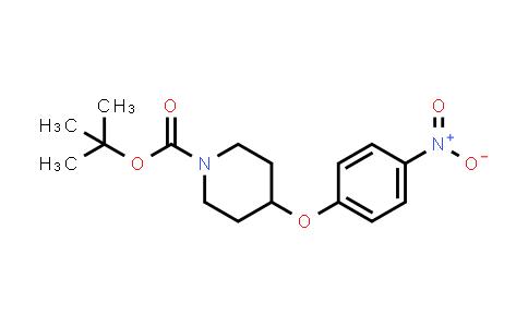 DY456328 | 138227-62-0 | 4-(4-Nitro-phenoxy)piperidine-1-carboxylic acid tert-butyl ester