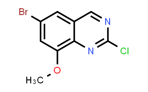 953039-14-0 | 6-Bromo-2-chloro-8-methoxy-quinazoline