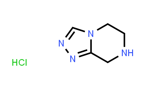 MC456337 | 345311-09-3 | 5,6,7,8-Tetrahydro-[1,2,4]triazolo[4,3-a]pyrazine hydrochloride