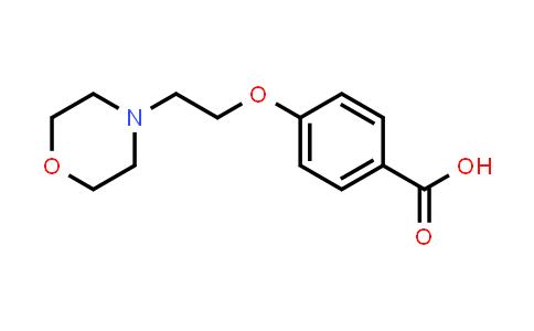 DY456343 | 134599-45-4 | 4-(2-Morpholin-4-yl-ethoxy)-benzoic acid