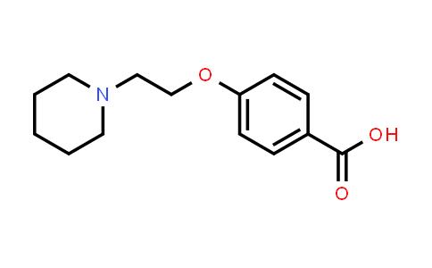 DY456344 | 89407-98-7 | 4-(2-Piperidin-1-yl-ethoxy)-benzoic acid