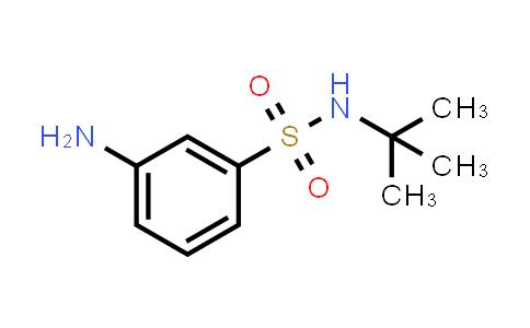 608523-94-0   3-Amino-N-(tert-butyl)benzenesulfonamide