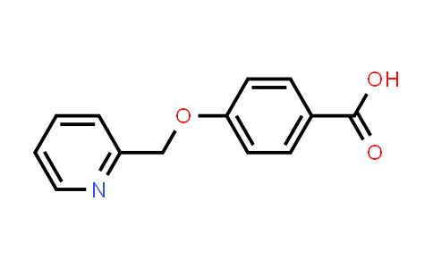50596-36-6 | 4-(Pyridin-2-ylmethoxy)benzoic acid
