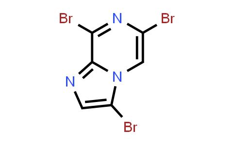 63744-24-1 | 3,6,8-Tribromo-imidazo[1,2-a]pyrazine