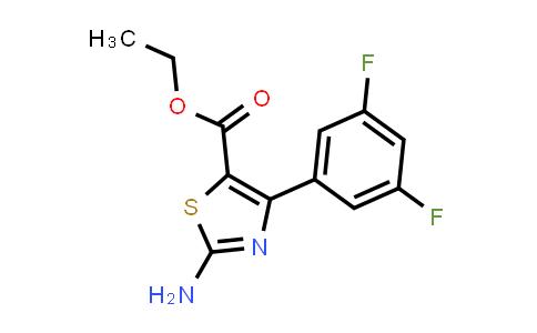 1188151-91-8   2-Amino-4-(3,5-difluorophenyl)-thiazole-5-carboxylic acid ethyl ester