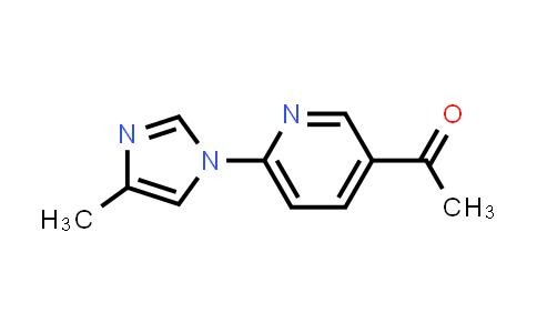 810662-41-0 | 1-[6-(4-Methylimidazol-1-yl)pyridin-3-yl]ethanone