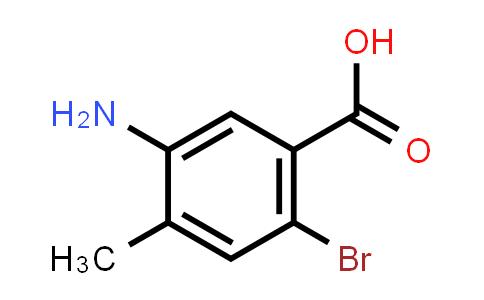 745048-63-9 | 5-Amino-2-bromo-4-methyl-benzoic acid