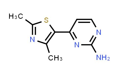 364334-94-1 | 4-(2,4-Dimethyl-thiazol-5-yl)pyrimidin-2-ylamine