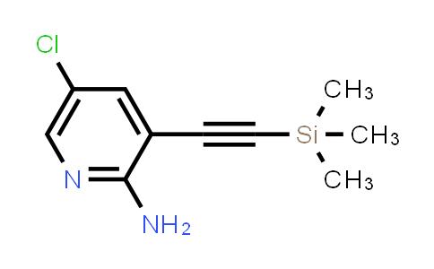 DY456419 | 866318-90-3 | 5-Chloro-3-trimethylsilanylethynyl-pyridin-2-ylamine