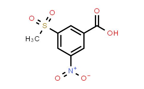 58123-66-3 | 3-Methanesulfonyl-5-nitrobenzoic acid