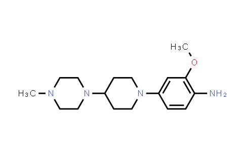 DY456435 | 761440-75-9 | 2-Methoxy-4-[4-(4-methyl-piperazin-1-yl)-piperidin-1-yl]-phenylamine