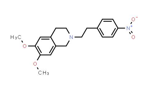 82925-01-7 | 6,7-Dimethoxy-2-[2-(4-nitro-phenyl)-ethyl]-1,2,3,4-tetrahydro-isoquinoline