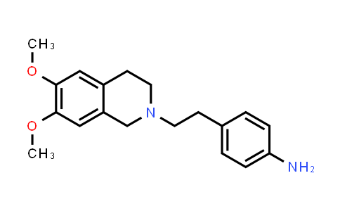 DY456443 | 82925-02-8 | 4-[2-(6,7-Dimethoxy-3,4-dihydro-1H-isoquinolin-2-yl)-ethyl]-phenylamine
