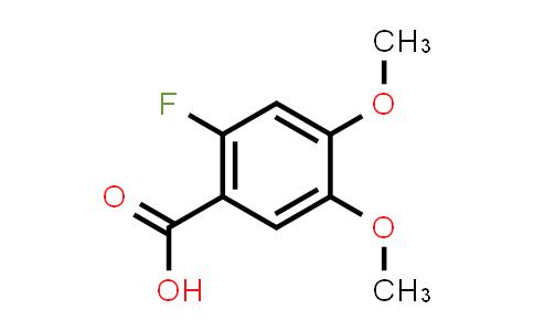 79474-35-4 | 2-Fluoro-4,5-dimethoxybenzoic acid