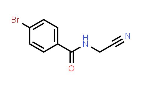 99208-44-3 | 4-Bromo-N-(cyanomethyl)benzamide