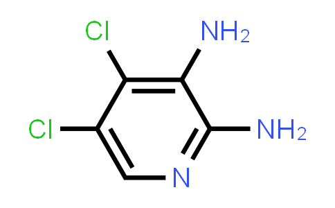 662116-66-7 | 4,5-Dichloro-pyridine-2,3-diamine