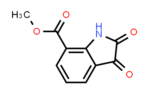 DY456469 | 103030-10-0 | 2,3-Dioxo-2,3-dihydro-1H-indole-7-carboxylic acid methyl ester