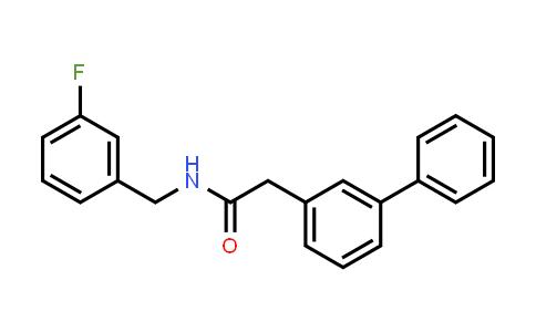897015-56-4 | 2-Biphenyl-3-yl-N-(3-fluorobenzyl)acetamide