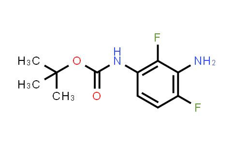 208166-48-7 | (3-Amino-2,4-difluorophenyl)-carbamic acid tert-butyl ester