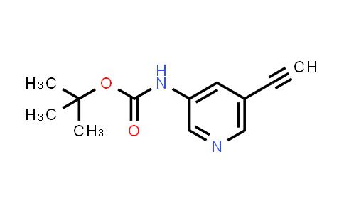 DY456501 | 1192472-59-5 | (5-Ethynylpyridin-3-yl)carbamic acid tert-butyl ester