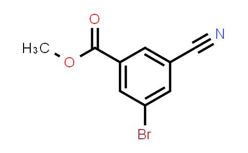 453566-15-9 | 3-Bromo-5-cyanobenzoic acid methyl ester
