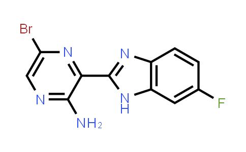1100095-00-8 | 5-Bromo-3-(6-fluoro-1H-benzoimidazol-2-yl)-pyrazin-2-ylamine