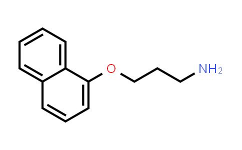 58477-93-3 | 3-(Naphthalen-1-yloxy)propylamine