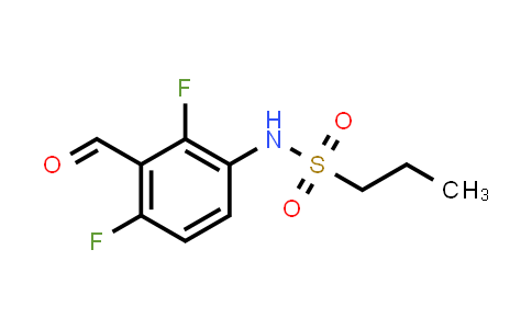 918523-58-7 | Propane-1-sulfonic acid (2,4-difluoro-3-formylphenyl)amide