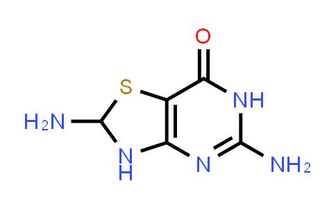 22288-77-3   2,5-Diamino-2,3-dihydro-6H-thiazolo[4,5-d]pyrimidin-7-one