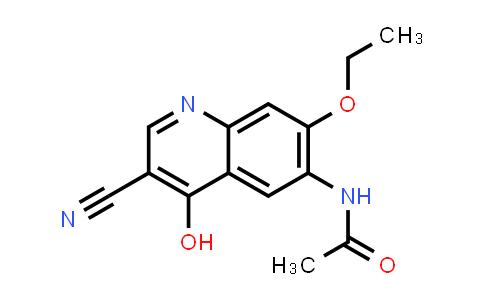 DY456535 | 848133-75-5 | N-(3-Cyano-7-ethoxy-4-hydroxyquinolin-6-yl)acetamide