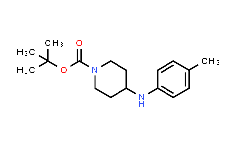 501673-99-0 | 4-p-Tolylamino-piperidine-1-carboxylic acid tert-butyl ester