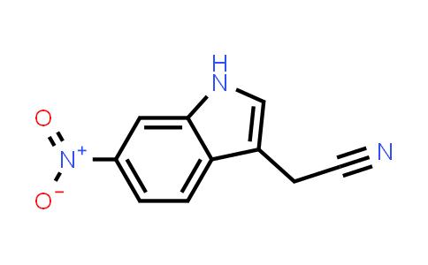 DY456550 | 7255-88-1 | (6-Nitro-1H-indol-3-yl)acetonitrile
