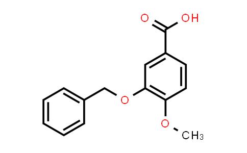 58452-00-9 | 3-Benzyloxy-4-methoxybenzoic acid