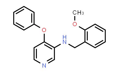 DY456569 | 253307-66-3 | (2-Methoxybenzyl)-(4-phenoxypyridin-3-yl)amine