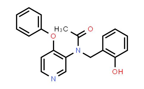 1005325-42-7 | N-(2-Hydroxybenzyl)-N-(4-phenoxypyridin-3-yl)acetamide
