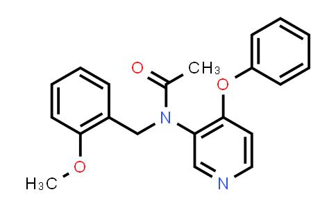 DY456571 | 253307-72-1 | N-(2-Methoxybenzyl)-N-(4-phenoxypyridin-3-yl)acetamide