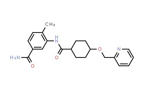 DY456581 | 1131604-94-8 | 4-Methyl-3-{[4-(pyridin-2-ylmethoxy)cyclohexanecarbonyl]-amino}benzamide