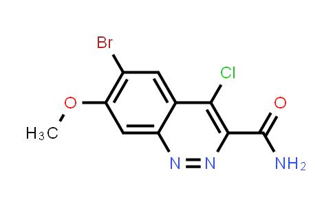 1041853-24-0 | 6-Bromo-4-chloro-7-methoxycinnoline-3-carboxylic acid amide