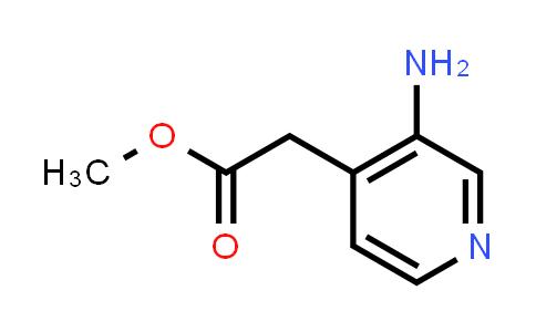 DY456583 | 878483-88-6 | (3-Aminopyridin-4-yl)acetic acid methyl ester