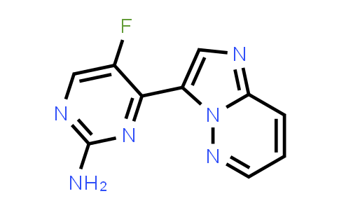 1131604-83-5 | 5-Fluoro-4-imidazo[1,2-b]pyridazin-3-ylpyrimidin-2-ylamine