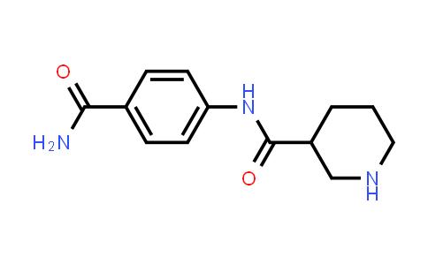 DY456599 | 609780-68-9 | Piperidine-3-carboxylic acid (4-carbamoylphenyl)amide
