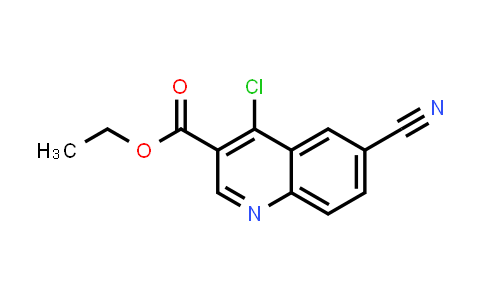 403841-76-9 | 4-Chloro-6-cyanoquinoline-3-carboxylic acid ethyl ester