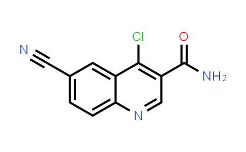 1131604-95-9   4-Chloro-6-cyanoquinoline-3-carboxylic acid amide