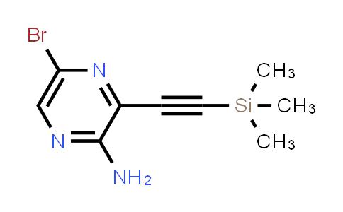 DY456613 | 875781-41-2 | 5-Bromo-3-trimethylsilanylethynylpyrazin-2-ylamine